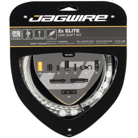 Jagwire 2X Elite Link Shift Cable Set silver